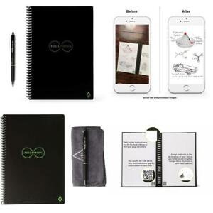 Reusable Smart Notebook Rocketbook Everlast Save Notes To Cloud Save Paper Eco