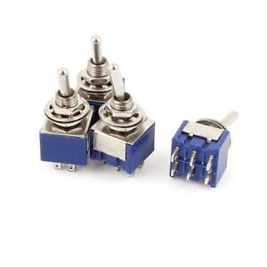 Uxcell A15062200ux0651 2 Position 6pins Dpdt On off Micro Mini Toggle Switch Ac