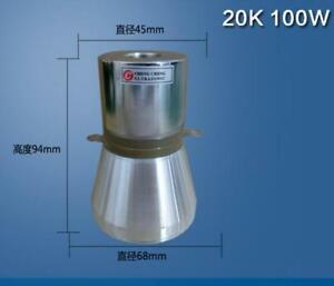 1pc 100w 20khz Ultrasonic Piezoelectric Cleaning Transducer