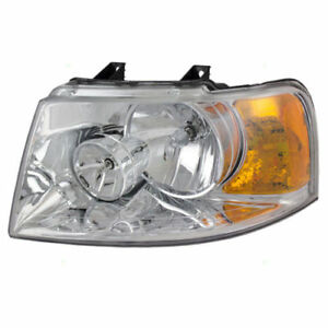 Fits For 2003 2004 2005 2006 Ford Expedition Headlight Left Driver 6l1z 13008