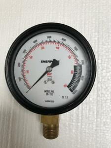 Enerpac Gp 10s Hydraulic Pressure Gauge 700 Bar 10 000 Psi 4 free Shipping