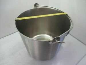 59150 vollrath Stainless Steel Utility Pail Silver new