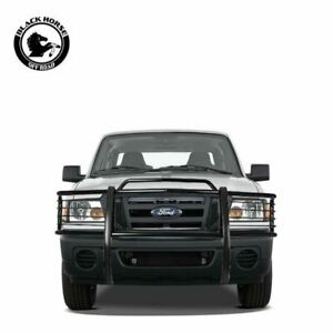 Black Horse For 2001 2012 Ford Ranger Grill Brush Guard Push Bar Black 17fr20ma