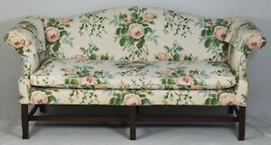 Kittinger Colonial Williamsburg Mahogany Chippendale Sofa Cw 23 Chinese Fretwork
