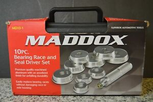 Maddox 10 Piece Bearing Race And Seal Driver Set Md10 1