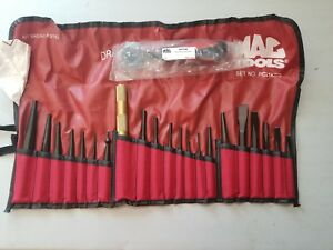 Mac Tools 21 Pc Punch And Chisel Set Pc21kss