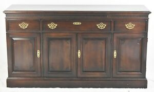 Statton Chippendale Style Cherry Sideboard Buffet Williamsburg Style