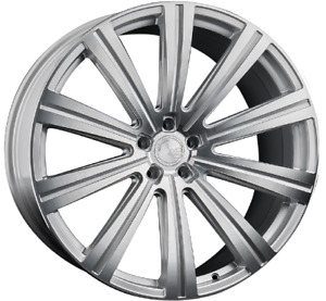22 Vanguard Wheels Rims For Bentley Continental Gt Flying Spur Ghost 22x9 10 5