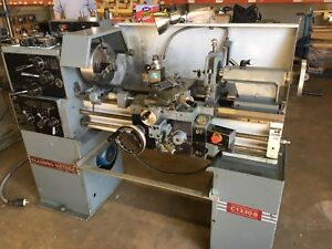 Clausing Metosa C1330s Engine Lathe Tool Room 13 Swing 30 Centers D1 4