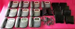 Avaya 4610sw Ip Lot Of 20 Business Display Phone With Base handset cord