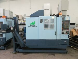 Matsuura Mc 660vg 5 axis Cnc Vertical Machining Center