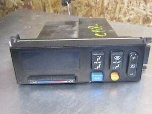 Chevy gmc truck suburban heater Climate Control Switch W o Max With Ac