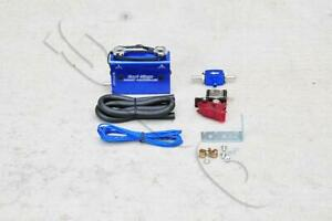 Blue Dual Stage Electronic Turbo Boost Controller W Switch