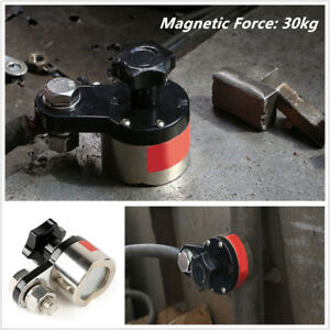200a Magnetic Welding Ground Clamp Holder 30kg Force Small Mwgc1 200 Flat Round