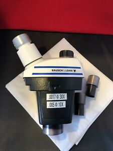 Bausch Lomb Stereozoom 4 Microscope Head 7x 3 0x Zoom Eyepieces