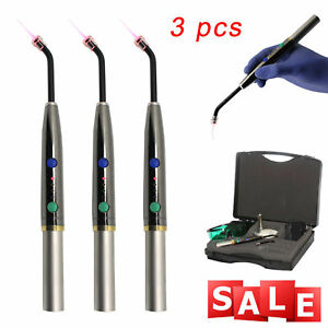 3 X Dental Diode Laser System Wireless Laser Pen Soft Tissue Perio Pad Lamp