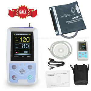 Abpm50 Usb Ambulatory Blood Pressure Monitor 24hours Nibp Holter software usa