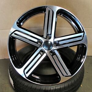 18 Wheels Rims For Volkswagen Vw Golf Gti R Jetta Cc 18x8 Et 45 5x112