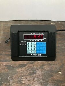 Chrontrol Xt 4 Four circuit Digital Programmable Timer controller 2 Outlet