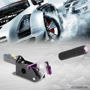Hydraulic Drift Hydro E brake Racing Rally Handbrake Lever Gear Locking Purple