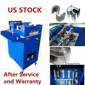 Usa Ac110v Single Side Cnc Notching Notcher Machine For Metal Channel Letter