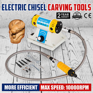 Electric Chisel Carving Tools Wood Chisel Carving Machine Kit 4 Blades 220v