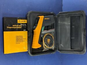 Fluke 561 Ir Thermometer Very Good Screen Protector Case