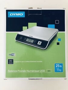 Dymo M25 Digital Postal Scale 25lb Usb Connect Pc mac Compatible Brand New