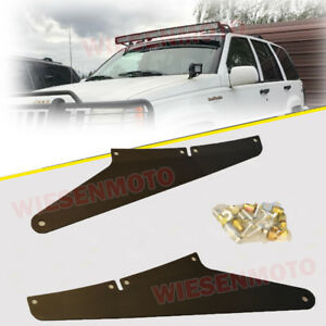 05 10 Jeep Grand Cherokee Wk 54 Inch Curved Led Light Bar Roof Mount Brackets