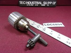 Jacobs 6a 1 2 Drill Chuck With Key Loc6894