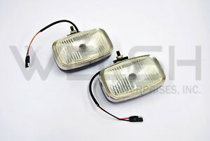 Unipart Fog Lights With Wiring And Mount New Old Stock Gal267