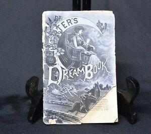 1800s Dr Harter S Dream Book Quack Medicine Promotional Advertising Victorian