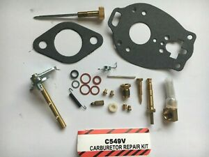 Tsx458 Carburetor Repair Kit Massey Ferguson Mf Ferguson Te20 To20 To30