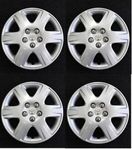 15 Wheelcover Hubcap New Aftermarket Fit Toyota 2005 2006 2007 2008 Corolla Set