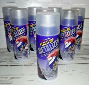 8 Performix Plasti Dip Enhancer Silver Metalizer 11 Oz Aerosol Cans