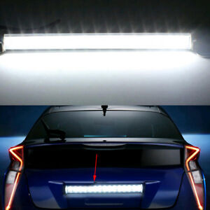 Xenon Car 15 Led License Plate Light Bolt On Reverse Backup Lamp White Universal