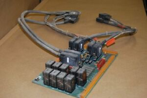 Hurco Km3p Cnc Mill Relay Control Board With Wire Harnes