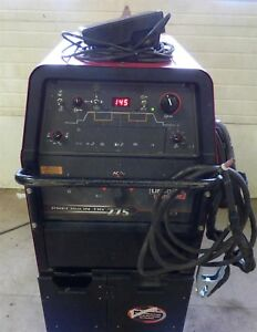 Lincoln Precision Tig 275 Ac dc Tig Stick Welder Ready pak Cart Torch Cooler