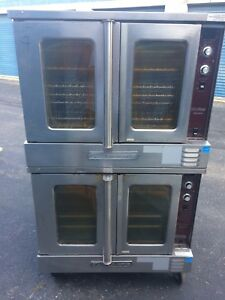 Southbend Silver Star Commercial Double Oven Used