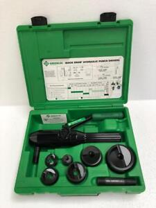 Greenlee 7806sb Quick Draw Hydraulic Punch Driver Set 1 2 To 2 Conduit Size