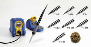 Hakko Fx888d 23by Soldering Station With 7 Extra Tips t18 b bl i d24 d32 c05