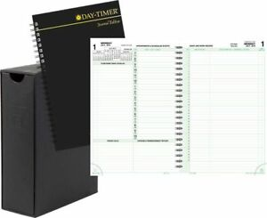 2 page per day Reference Planner Refill With Storage Journal Size
