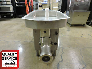 Hobart 4632a Commercial Meat Grinder Chopper 3 Ph