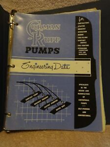 Gorman rupp Pump Engineering installation And Repair Manual T Series Centrifugal