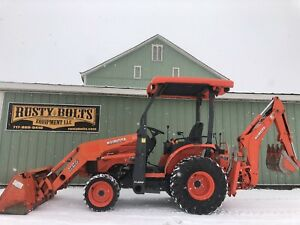 2016 Kubota B26 Hst 4x4 Compact Tractor Loader Backhoe Low Hours Clean Tlb