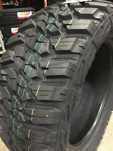 4 New 305 70r17 Kanati Mud Hog M t Mud Tires Mt 305 70 17 R17 3057017 10 Ply