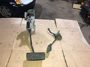 02 06 Acura Rsx Gas Accelerator And Brake Foot Pedal Assembly Oem Automatic