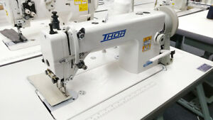 Thor Re 0303 Single Needle Top And Bottom Walking Foot Sewing Machine W Servo