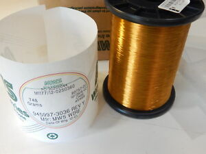 Mws 945997 3036 36 Awg Sp Cda 102 6 1 hpt Enameled Copper Magnet Wire 1 5 lbs