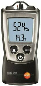 Testo 0560 0610 610 Pocket sized Air Humidity Temperature Measuring Instrument